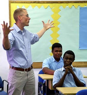 Ghana, U.S. teachers meet during Western Accord 13
